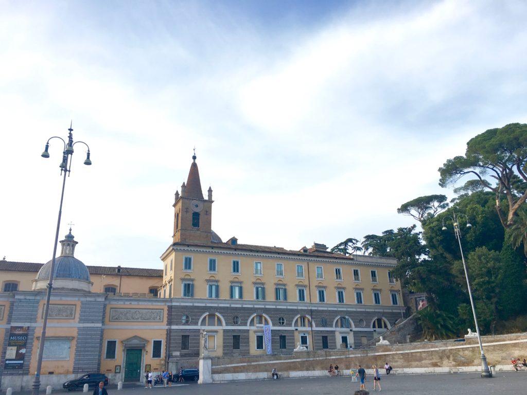 basilica s.maria del popolo, francesca mercantini, roma