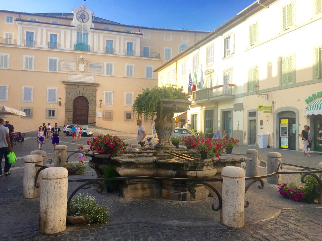 fontana, castel gandolfo, francesca mercantini, bernini
